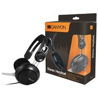 Гарнитура_ПК Canyon Simple USB headset (7XCNECHSU1B) Black